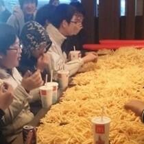 Potato Parties in Japan.