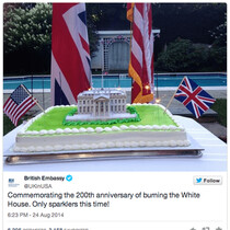 See How The Brits Apologized For Torching the White House
