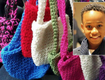 Boy wants to help homeless, learns to crochet and makes hats, scarves and bags for them