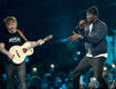 Ed Sheeran Performs 'Shape Of You' Rework with Stormzy at 2017 BRIT Awards