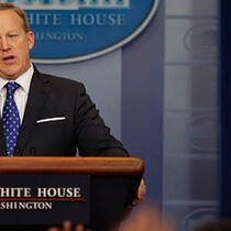 WATCH LIVE: Sean Spicer Holds Daily White House Press Briefing