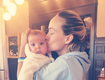 Olivia Wilde Creates Optical Illusion With Photo of Her Baby