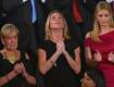 Emotional moment as Navy SEAL's widow gets prolonged standing ovation
