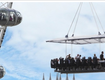 THIS SUMMER YOU CAN DINE AT A RESTAURANT SUSPENDED 100 FEET IN THE AIR BUT WOULD YOU ??