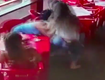 Angry Girl Punches Cheating Boyfriend & Attacks His Side Piece [VIDEO]