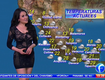 Hot Weather Girl Does Report In Tight See Through Dress [VIDEO]