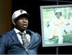 Falcons Draft Pick Brings Portrait of His Grandma on Stage and Delivers Most Memorable Moment of Night