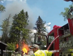 Propane Tank Explosion Knocks Firefighters Down