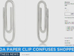 $185 Prada Paper Clip Proves Unpopular With Shoppers!