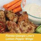 Spice up your Memorial Day cookout with Florida Georgia Line's Lemon Pepper Wings.