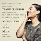Congrats, Tracee Ellis Ross!!!