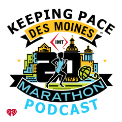 Listen to the Keeping Pace powered by the IMT Des Moines Marathon Episode - Recovery from Injury and Training for the Half-Marathon on iHeartRadio | iHeartRadio