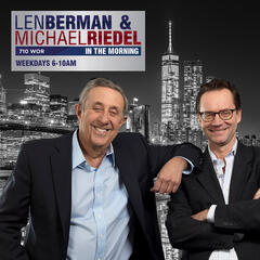 Listen to the Len Berman and Michael Riedel in the Morning Episode - Katharine McPhee on iHeartRadio | iHeartRadio