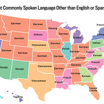 Besides English and Spanish, what do you think is Michigan's most spoken language?