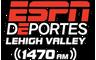 ESPN Deportes Lehigh Valley 1470am - Allentown, Easton, Bethlehem's Spanish Sports Station!