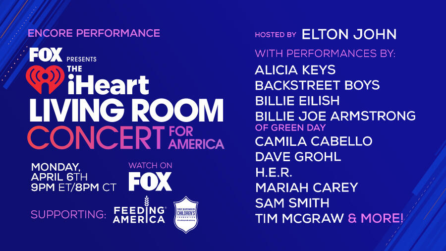 Encore performance on Monday, April 6th at 9pm ET/8pm CT on FOX
