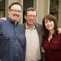 Bruce, John and Janine