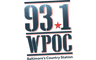 93.1 WPOC - Today's Best Country