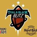 Teal & Black Blitz