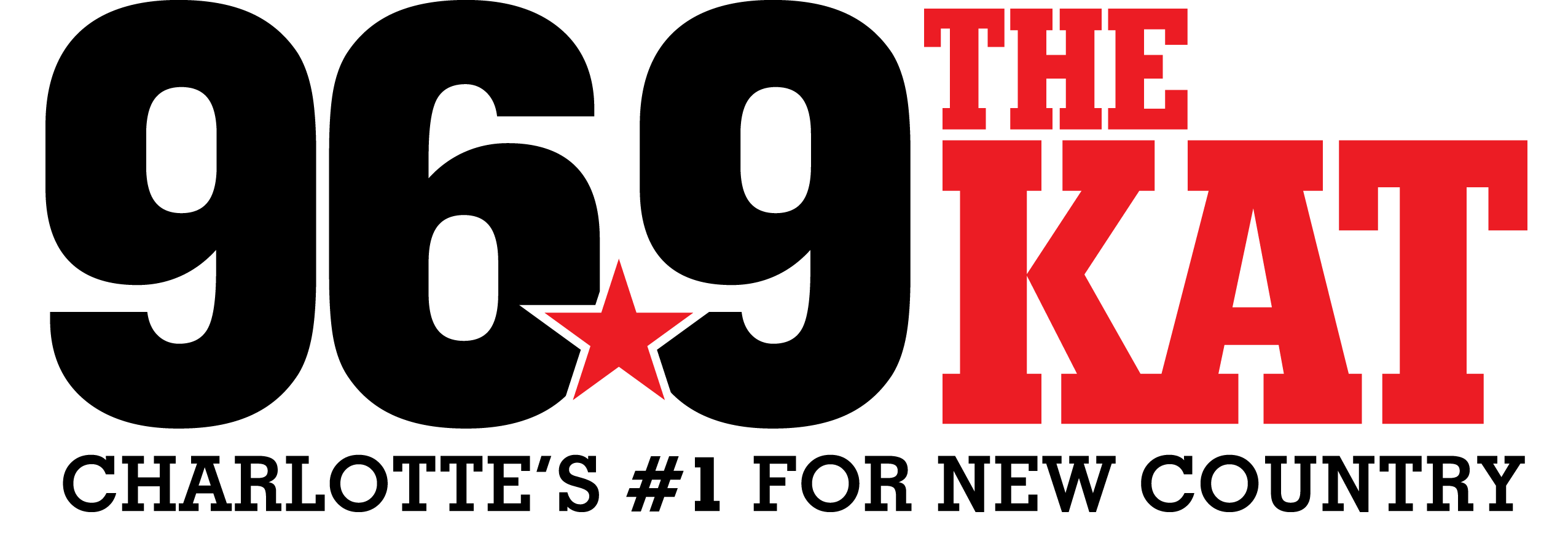 96 9 The Kat - Charlotte's #1 for New Country