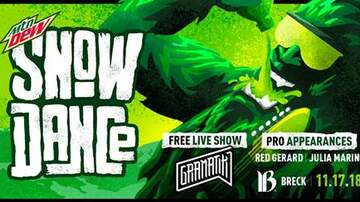 Contest Rules - #DewSnowDance