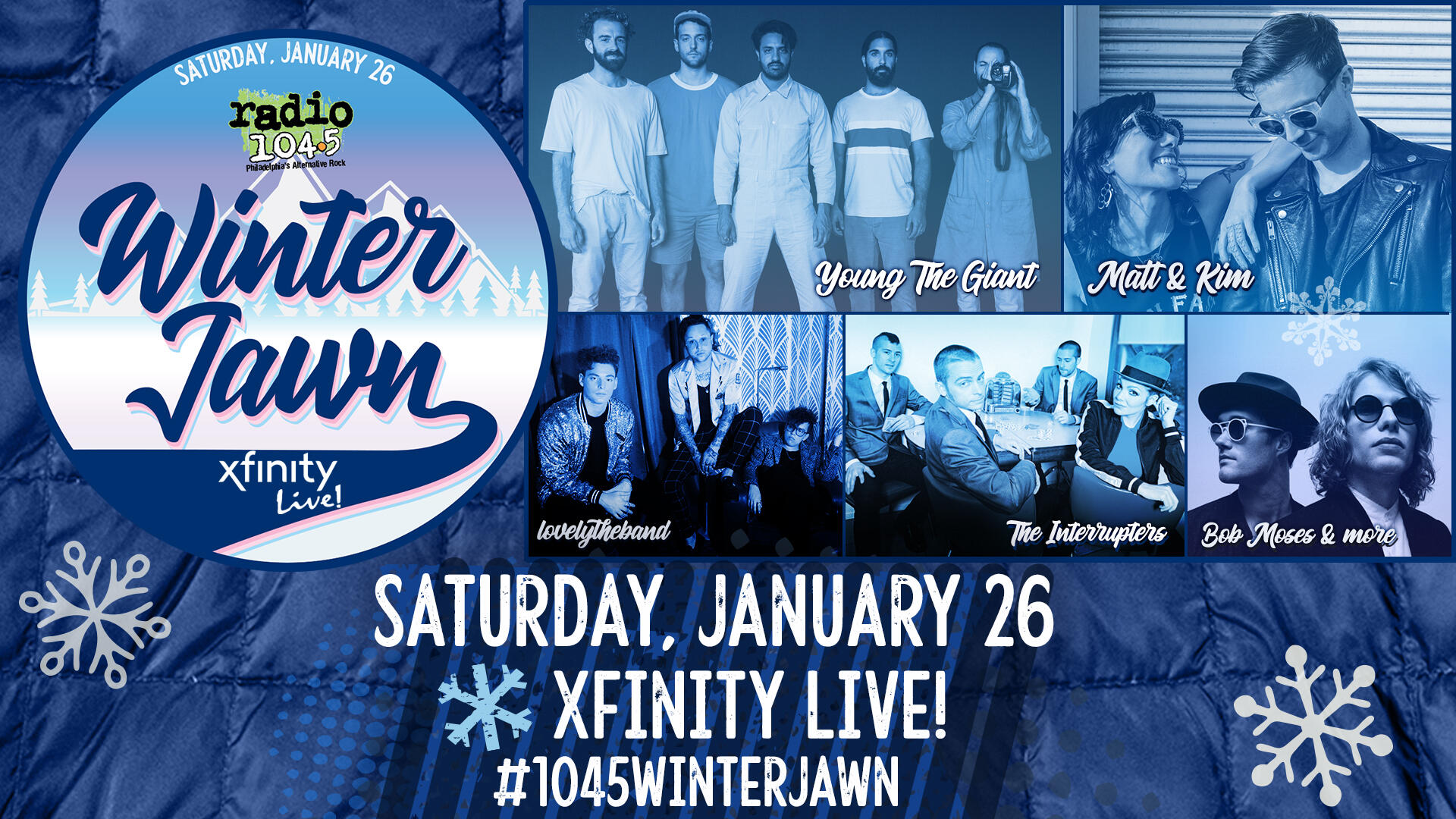 Winter Jawn - Radio 104 5