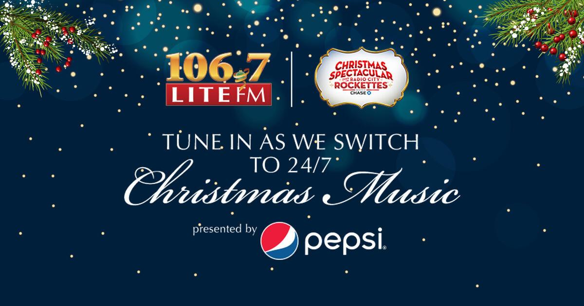 106.7 Fm Christmas Music 2020 106.7 Lite Fm Christmas Music 2020 | Ewgmba.newchristmas.site