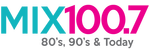 Mix 100.7 - The Best Variety of the 80's, 90's, and today.