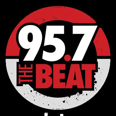 95.7 The Beat logo
