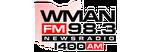WMAN AM & FM - News Radio 98.3FM & 1400AM, WMAN