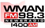 WMAN AM & FM - Mansfield FM News & Talk