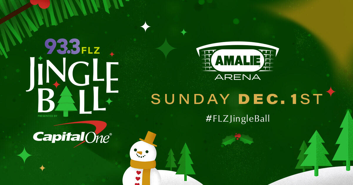 Tampa Christmas Radio Station.93 3 Flz S Jingle Ball 93 3 Flz