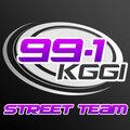 99.1 KGGI Street Team