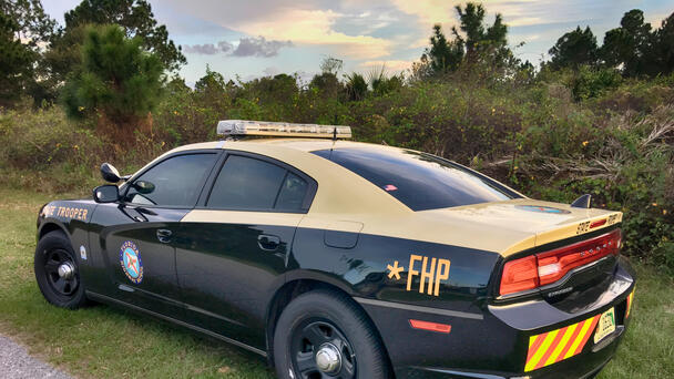Florida Motorcyclist Killed After Crash with FHP Cruiser And Semi On I-4