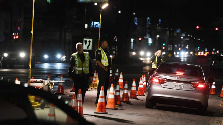 Unlicensed Drivers Cited, Vehicles Towed at Pomona DUI Check