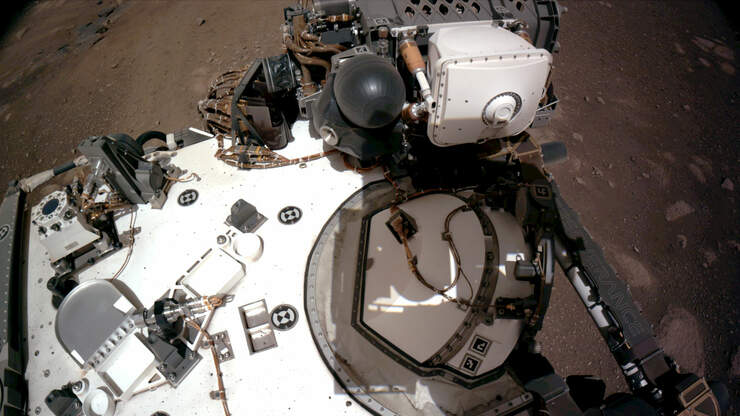 #SECRET: NASA put a secret message in PARACHUTE of MARS PERSEVERANCE ROVER!