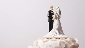 image for Waiter topples wedding cake