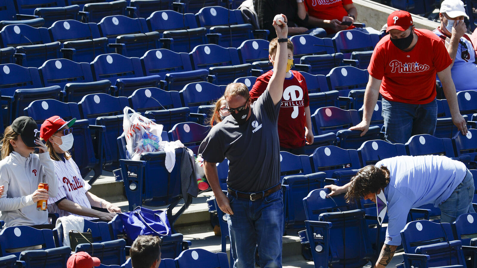 Citizens Bank Park To Lift Mask Mandate For Phillies Fans Today