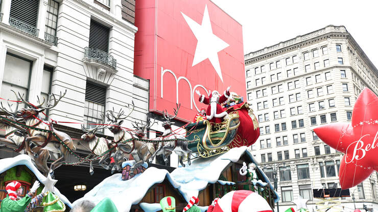 Tarpon Springs High School will be in the Macy's parade next year!