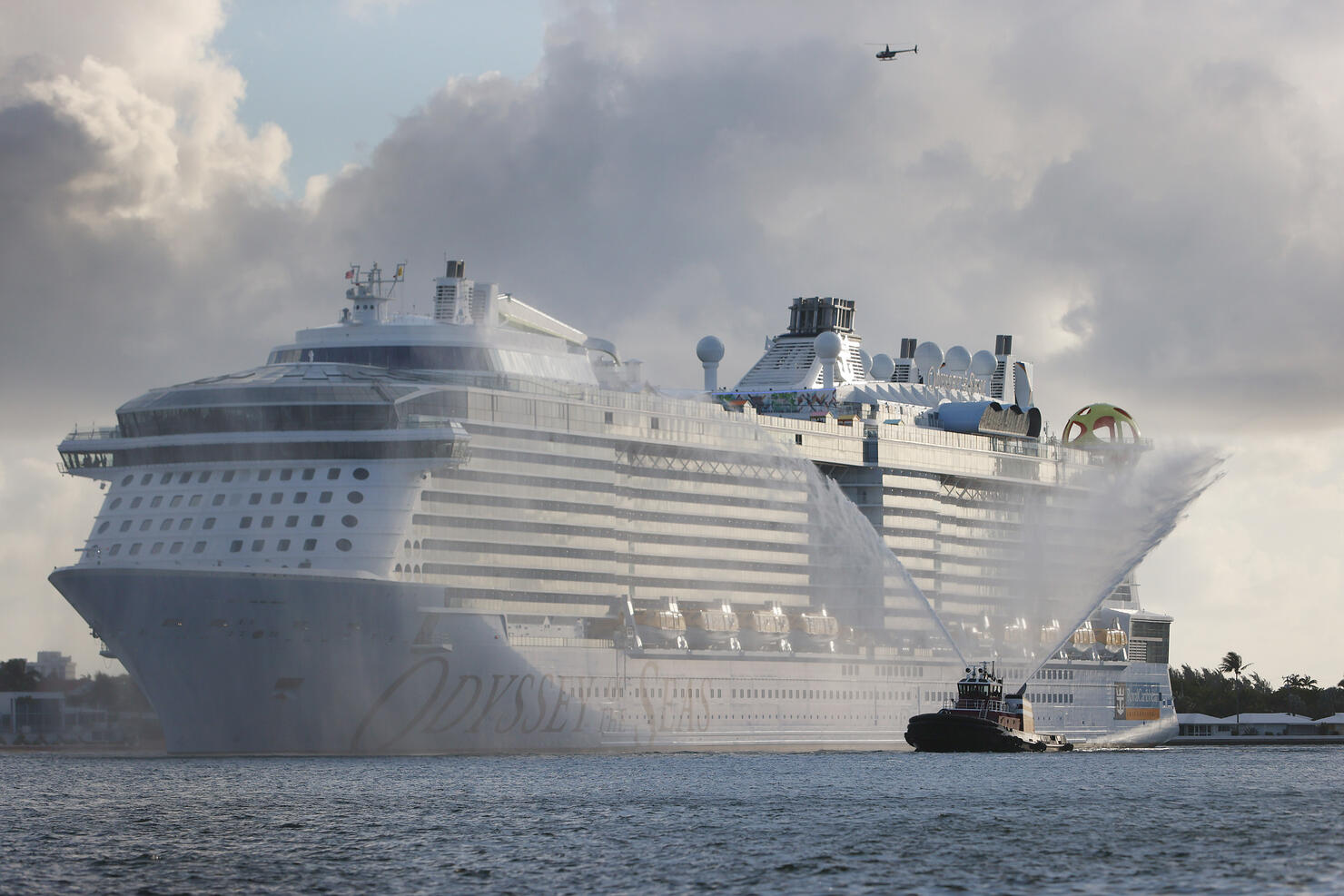 Port Everglades Welcomes Royal Caribbean Odyssey Of The Seas Ship, As The Florida Cruise Industry Slowly Restarts