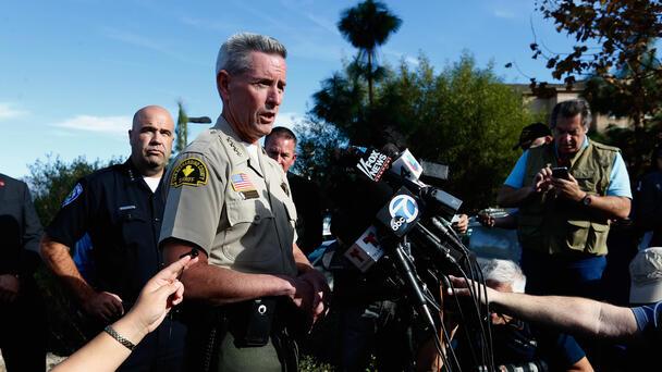 Last Day Of Work for San Bernardino County Sheriff John McMahon