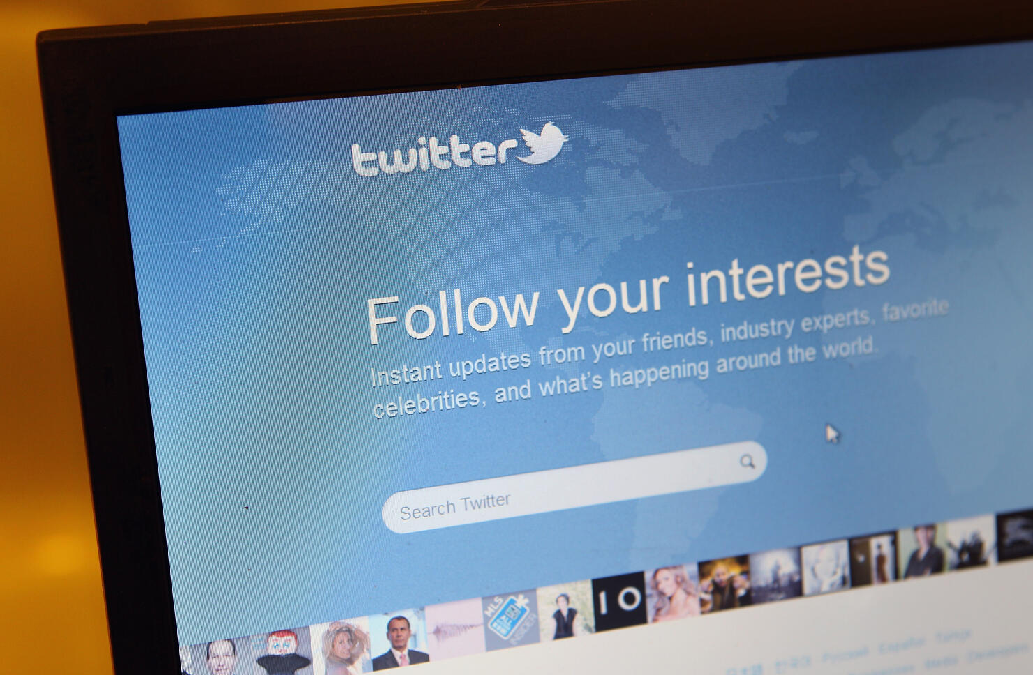 Social Networking And Blogging Website Twitter