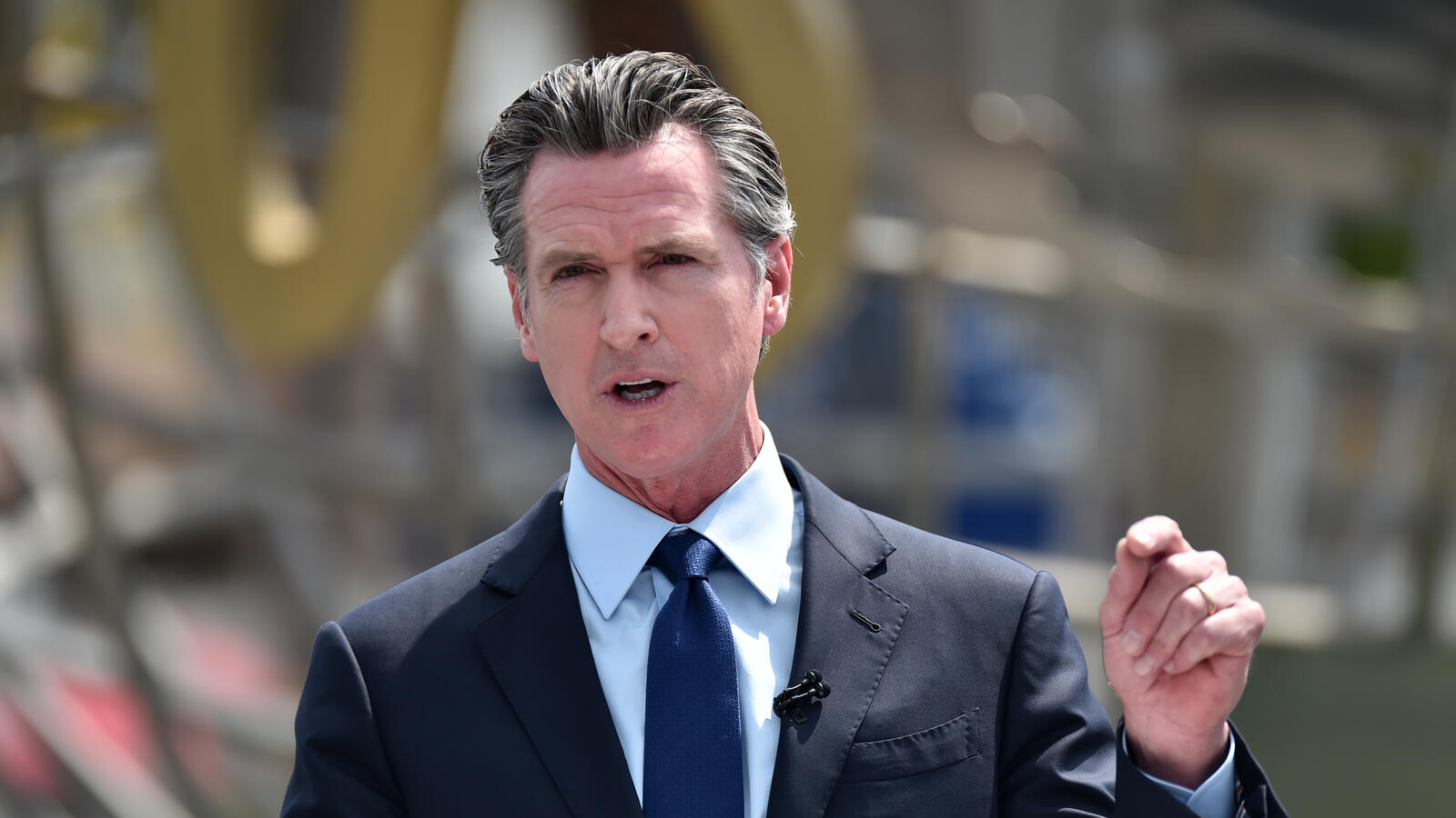 Governor Newsom Not Ready to Mandate Masks Across California... For Now