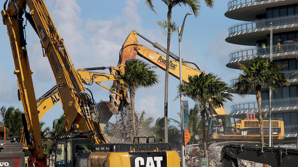 Search For Bodies Officially Ends In Miami Condo Collapse