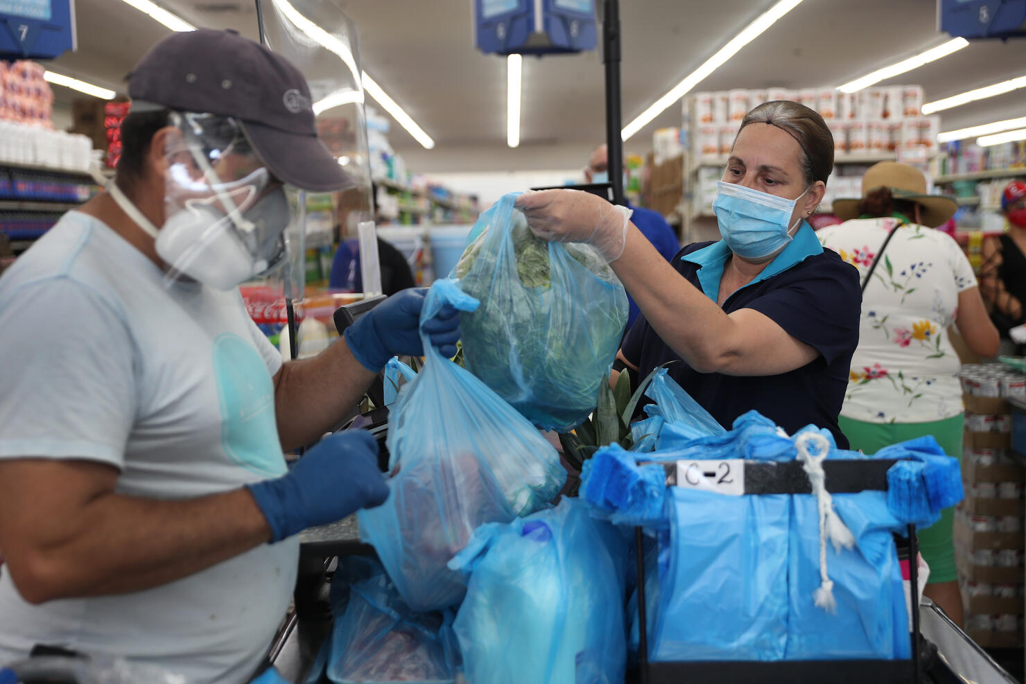 Essential Workers Keep Businesses Open And Serve Customers During COVID-19 Pandemic