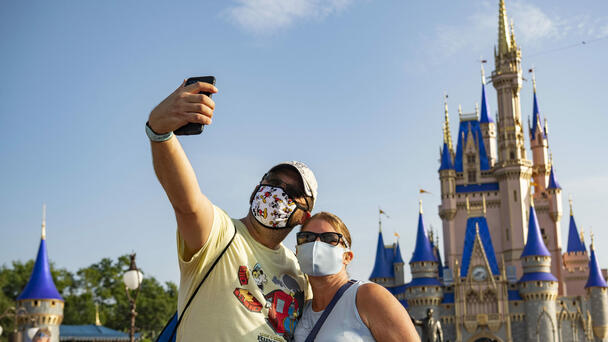 Disney World Announces New Policy On Guests Wearing Masks
