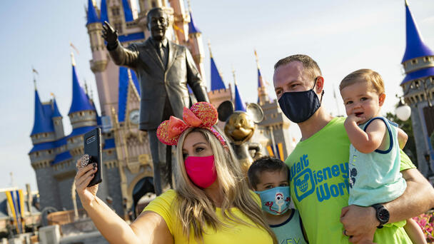 Disney World To Require Masks Indoors