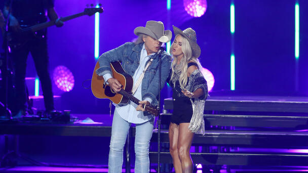 """Dwight Yoakam, and Carrie Underwood doing """"A Thousand Miles From Nowhere"""""""