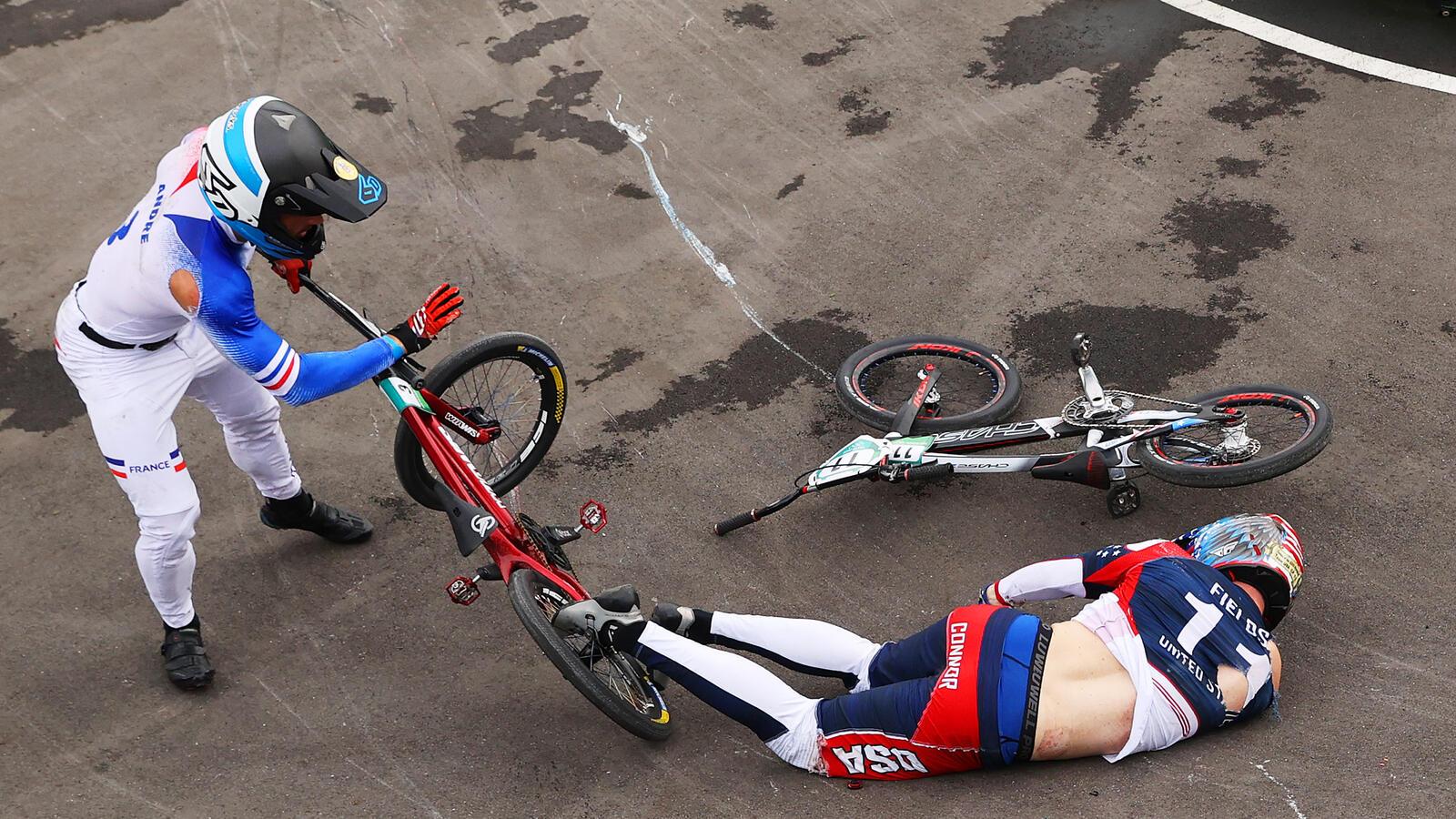 Texas BMX Champ Recovering After Horrific Crash At Tokyo Olympics
