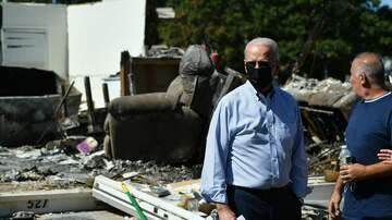 image for President Biden Surveys Ida Damage In New York, New Jersey